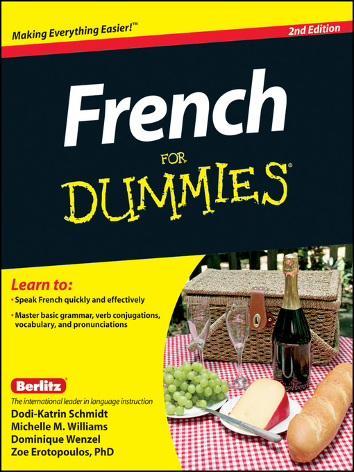 Title details for French For Dummies by Erotopoulos - Available